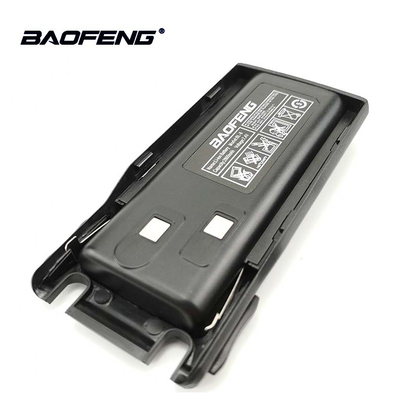 2pcs Baofeng UV 82 UV 8D Original Li Ion Battery 7.4V 2800mah BL 8 For Walkie Talkie Pofung UV 82 Two Way Radio Accessories UV82