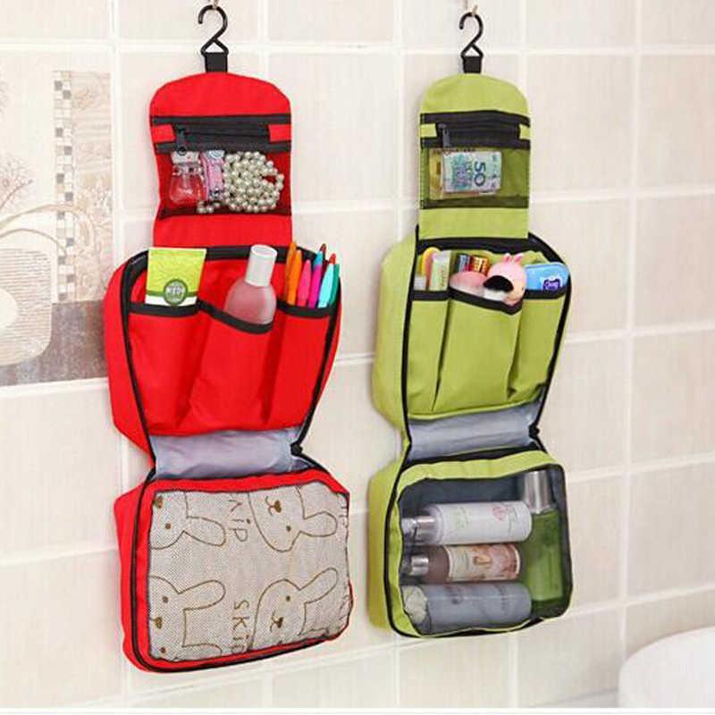 Große Kapazität Multicolors Hängen Kosmetischer Waschen Taschen Männer Frauen Nylon Organisatoren Flodable Wasserdichte FVC Strumpf Taschen