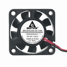 Factory Price 500PCS DC Fan Manufacturer 24V 2P 4cm 40mm x 10mm 9 Blades 4010  цена и фото