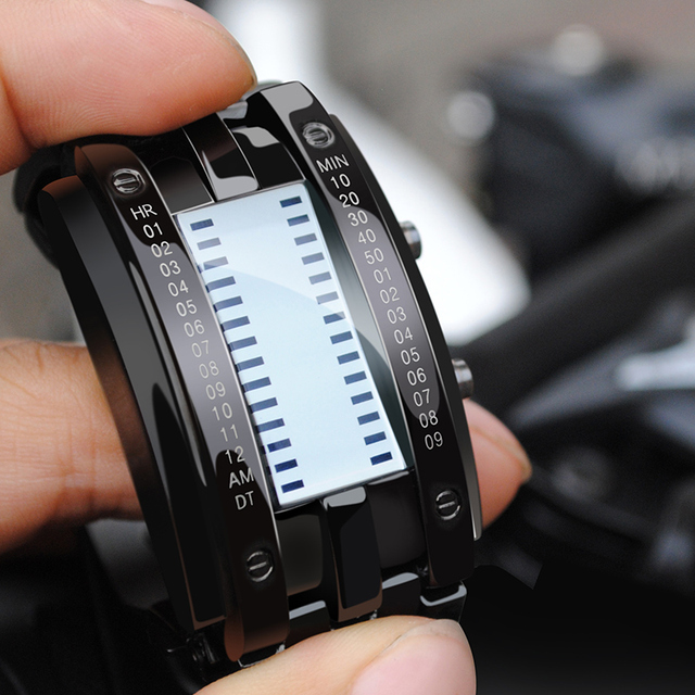 Creative Digital LED Display 50M Waterproof Lover's Wristwatch 2