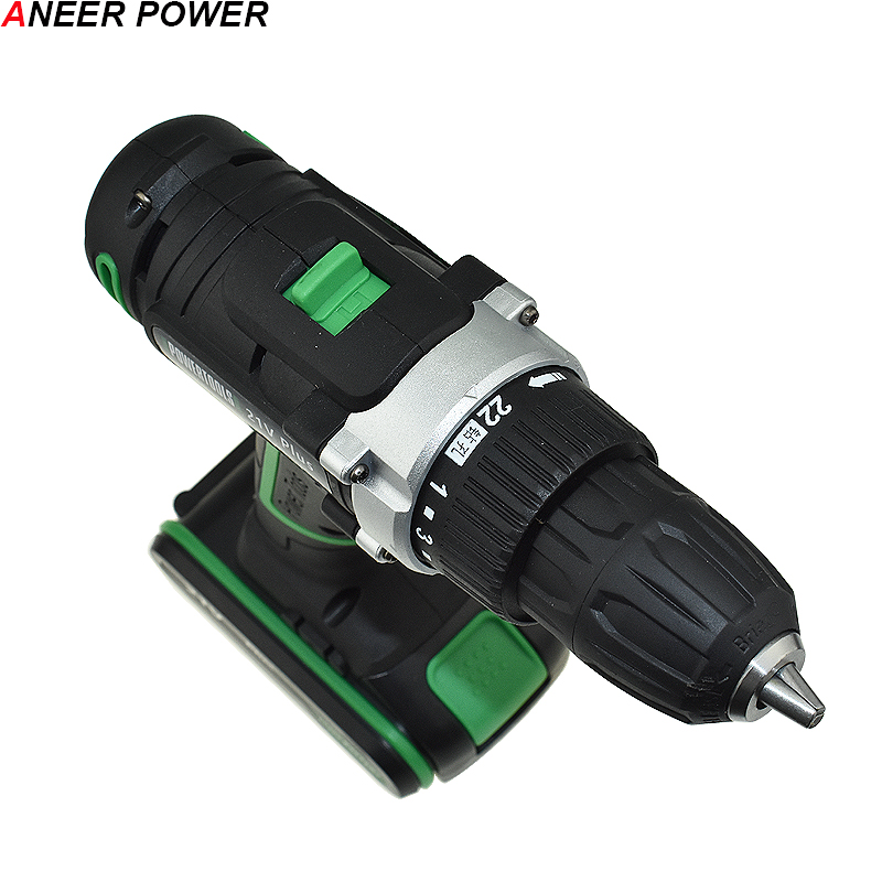 Image 4 - 21v Power Tools Double Speed Hand Electric Drill Cordless Drill Battery Drill Electric Screwdriver Mini Drilling 45 N/M Torque-in Electric Drills from Tools on