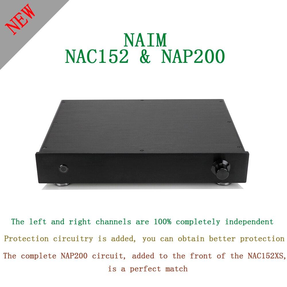SUQIYA-nouveau basé sur NAIM NAC152 préampli & NAP200 amplificateur combiné 75W + 75W