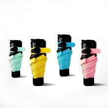 Petit Noir Parapluie Pliant Pluie Femmes Ultra-Léger Soleil Parapluie Anti UV Noir Revêtement Parasol 4 Couleurs Ensoleillé Et Pluvieux Parapluie