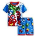 Новые дети миньоны пижамы мультфильм Descipable я Pijamas мальчик паук бэтмен пижамы девочку пижамы детям комплект одежды