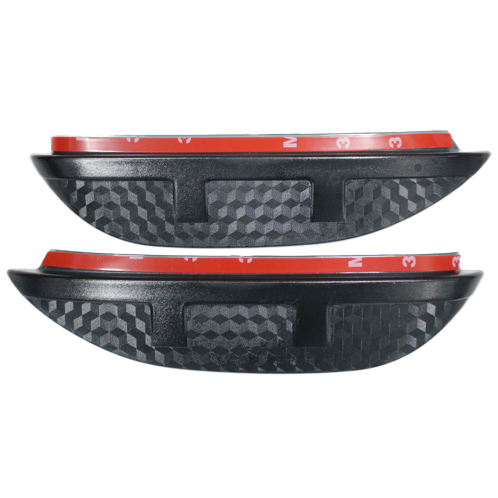 For MITSUBISHI outlander 2013 To 2016 Eyebrow Rearview mirror rain gear sticker auto accessories 2pcs per set