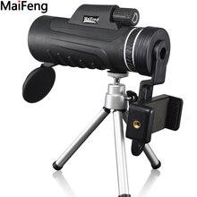 Powerful Monocular 40X60 HD Telescope High Quality Portable monocular Binoculars with Phone holder Tripod Lll night vision