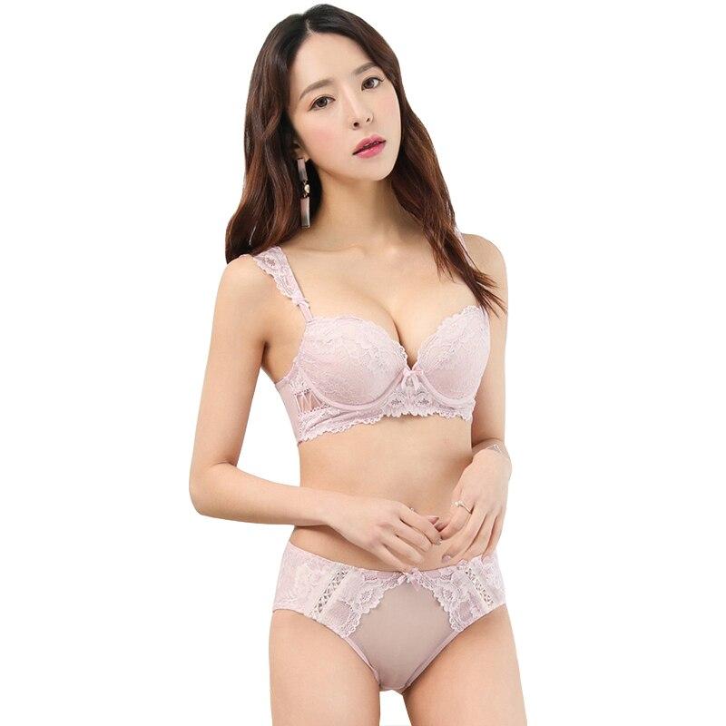 MINGMO 2018 Cina Celana Seksi Dan Bra Set Renda Bordir Transparan  Mendongkrak Wanita Gadis Intimates Lingerie Wanita Pakaian|bra set|panty  and bra setpanties and bra - AliExpress