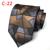 Lingyao NOVO 8 cm Ties Top de Luxo Tecido Moda Gravata Geométrica para Gentlenmen (Feito de 2400 Pontos Linha Colorida)