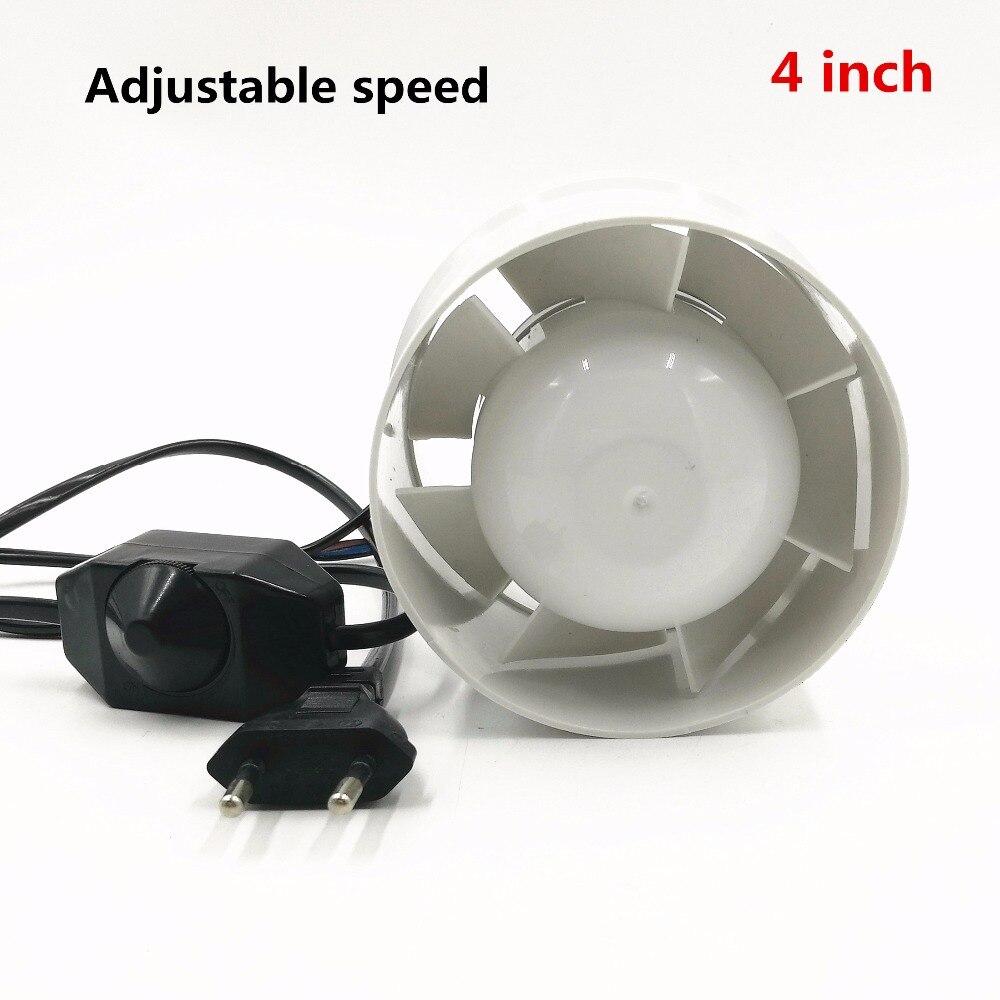 220V 4 Inch Mini Fan Duct Fan