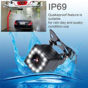 Image 4 - Gspscn駐車場支援 5 インチリアビューモニター車反転バックミラーバックアップカメラled赤外線ゴムカップ + ブラケット