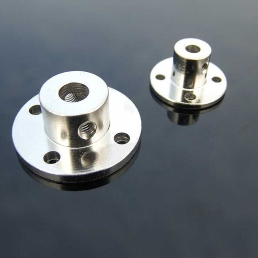 3/3.17/4/5/6/7/8/10/11/12/14mmmm Rigid Flange Coupling Motor Guide Shaft Coupler Motor Connector Shaft Axis Bearing Fittings