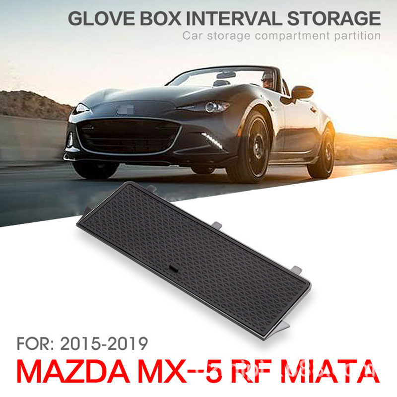 fit for Mazda MX 5 2015 2019 RF / MIATA Car Storage Armrest Box Center Console Glove Organizer Tray Retrofit Classify Sort Out-in Stowing Tidying from Automobiles & Motorcycles