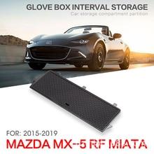 fit for Mazda MX 5 2015 2019 RF / MIATA Car Storage Armrest Box Center Console Glove Organizer Tray Retrofit Classify Sort Out