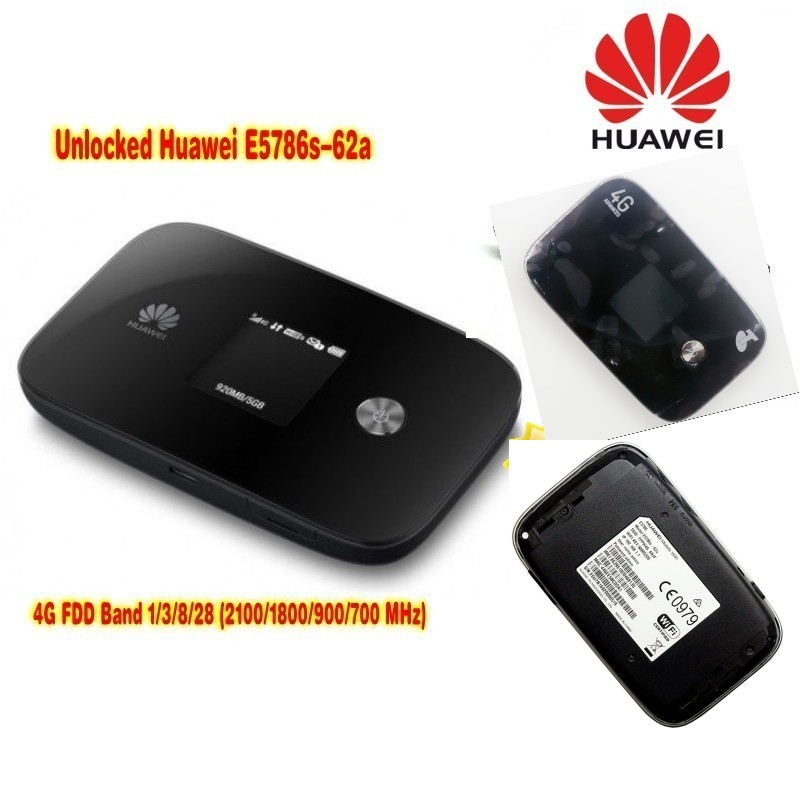 Lot Of 10pcs Unlocked HUAWEI  E5786s-62a 4G LTE Advanced CAT6 300Mbps 4G Pocket WiFi Router  Plus 2pcs Antenna,DHL Shipping