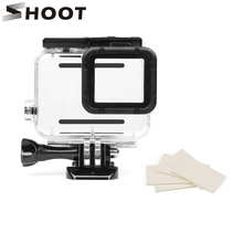 SHOOT 40M Underwater Waterproof Case for GoPro Hero 6 5 Black Sports Cam Surfing Diving Accessories For Go Pro Hero 6 5 Camera