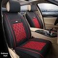 (Delantero y Trasero) Cuero del asiento de coche especial cubre Para Ford mondeo Focus Fiesta S-MAX Edge Explorador Taurus coche accesorios styling