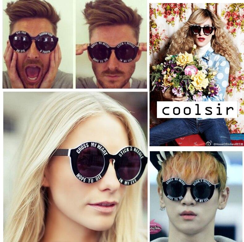 Cross My Heart Sunglasses  aliexpress com round sunglasses ldn cross my heart and hope