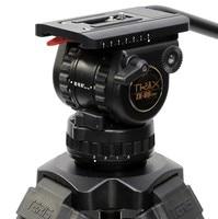 Top Quality New V8 TS80 Fluid Head Professional Tripod Head 75mm bowl Load 8KG for DSLR Camera Video tripod