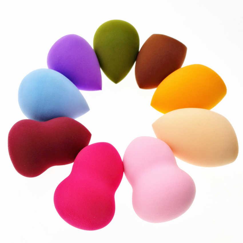 Sywinas 3 pçs/caixa grande sopro maquiagem esponja blender blending cosméticos compõem fundação microfibra esponja powder puff.