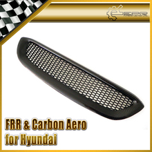 Car-styling For Hyundai Genesis Rohens Coupe 2009 OEM Carbon Fiber Front Grille Mesh Grill