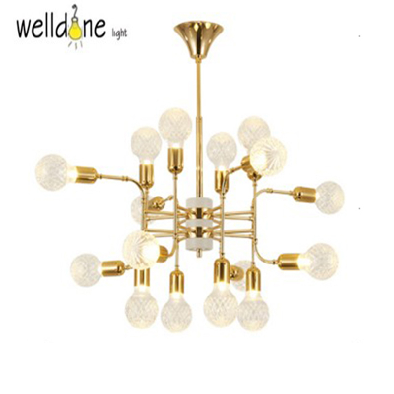 New gold Modern pendant lights for living room Dining Room Hanging Pendant Lamp Fixtures Free Shipping a1 master bedroom living room lamp crystal pendant lights dining room lamp european style dual use fashion pendant lamps