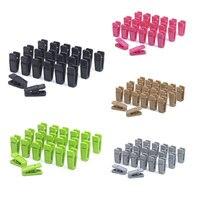 20PCS Heavy Duty Clothes Pegs Plastic Hangers Racks Clothespins Laundry Clothes Pins Hanging Pegs Clips TB