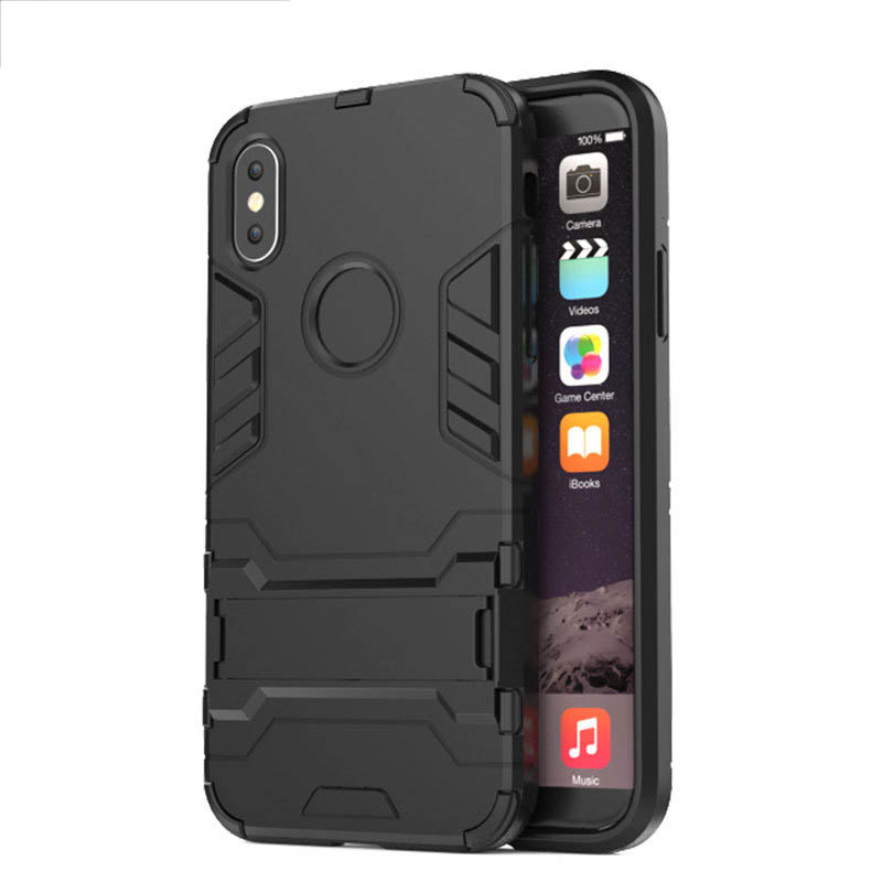 Coque For Iphone 5 5S Se X 7 6 6S 8 Plus Cases Iron Man Armor Iphone 6S Plus TPU PC Hybrid Shockproof Phone Case