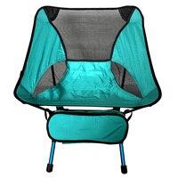 Ultraleve Folding Chair para a Prática Desportiva Motociclismo Mochila Cadeira Fora Do Caiaque para Shows Na Praia ou no Jardim