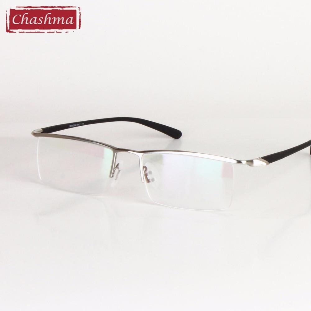 Chashma Brand Brand Design Men Glasses Frame Titanium Alloy Eyeglass Male Glasses Spectacle Frame for Men