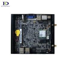 Free Shipping DDR4 computers intel kaby lake celeron 3855u dual core fanless mini pc windows10 Support HDMI VGA up to 16G RAM