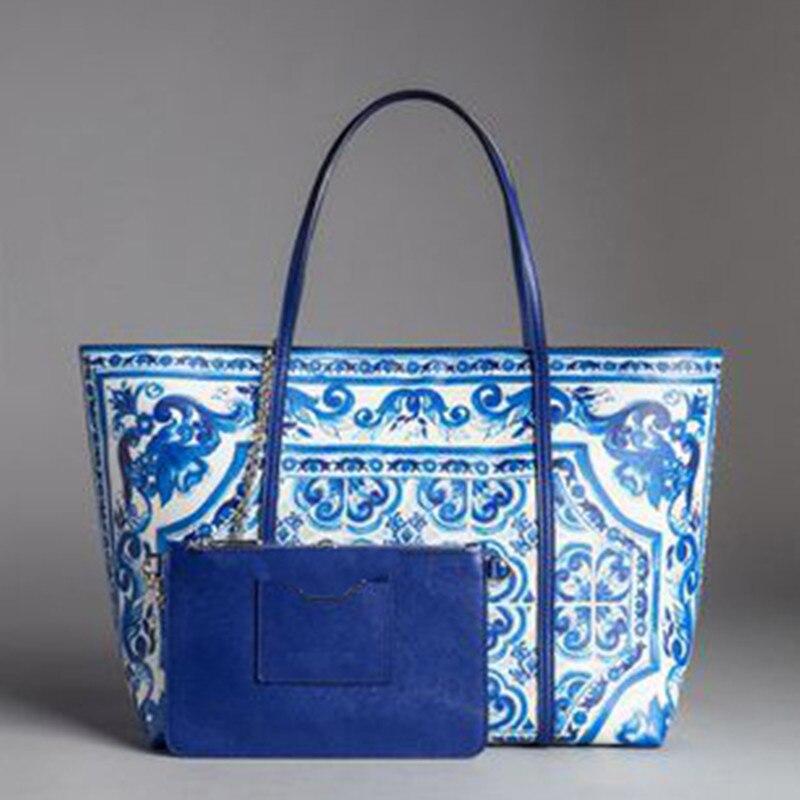 Luxury Italy Brand Sicily Ethnic Genuine Leather Shopper Tote Handbag Famous Designer Flower Painted Shoulder Bag Louis Bag L V* все цены