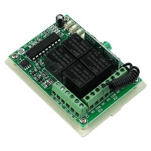Image 3 - DC 12 V 4CH 1CH ממסר עצמאי אלחוטי + מתג אור מרחוק 2CH הרגעי 2CH Toggle Switch 315 MHZ/433 MHZ
