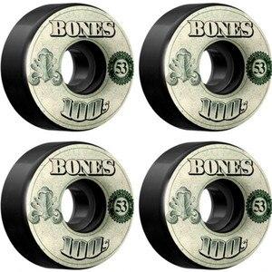 Image 4 - USA Brand 100S OG Skateboard Wheels 4PCS 52 53 54mm Double Rocker Wheel for Skateboarding Deck Durable Aggressive Rodas Skate