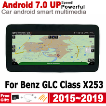 For Mercedes Benz GLC Class X253 2015~2019 NTG HD Screen Android Car GPS Navi Map Stereo Original Style Multimedia Player Radio octacore android 8 0 4 32gb 10 25 ips screen car dvd player gps navigation for mercedes benz c glc gls w205 glc x253 2014 2017