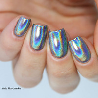 1g Box Holographic Laser Powder Nail Glitter Rainbow Pigment Manicure Chrome Pigments