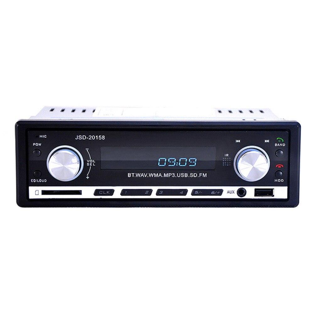 Universal Car Radio Player Bluetooth JSD 20158 Car Radio 12V Bluetooth Handsfree Build in Mic In