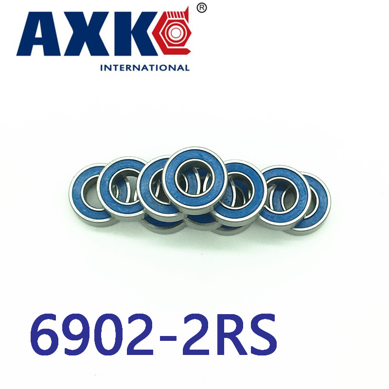 2018 New Arrival New Steel Rolamentos Free Shipping 4pcs 15x28x7 Blue Rubber Bearings Abec-3 6902 2rs free shipping 4pcs 13x19x4 blue rubber bearings abec 3 mr1913 2rs