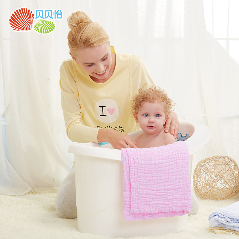 Hot Sale Baby Summer Light Blanket Newborn Baby Towel Cotton Washcloth For Baby Boy Girl 0-3Y Baby Soft Bath Towel
