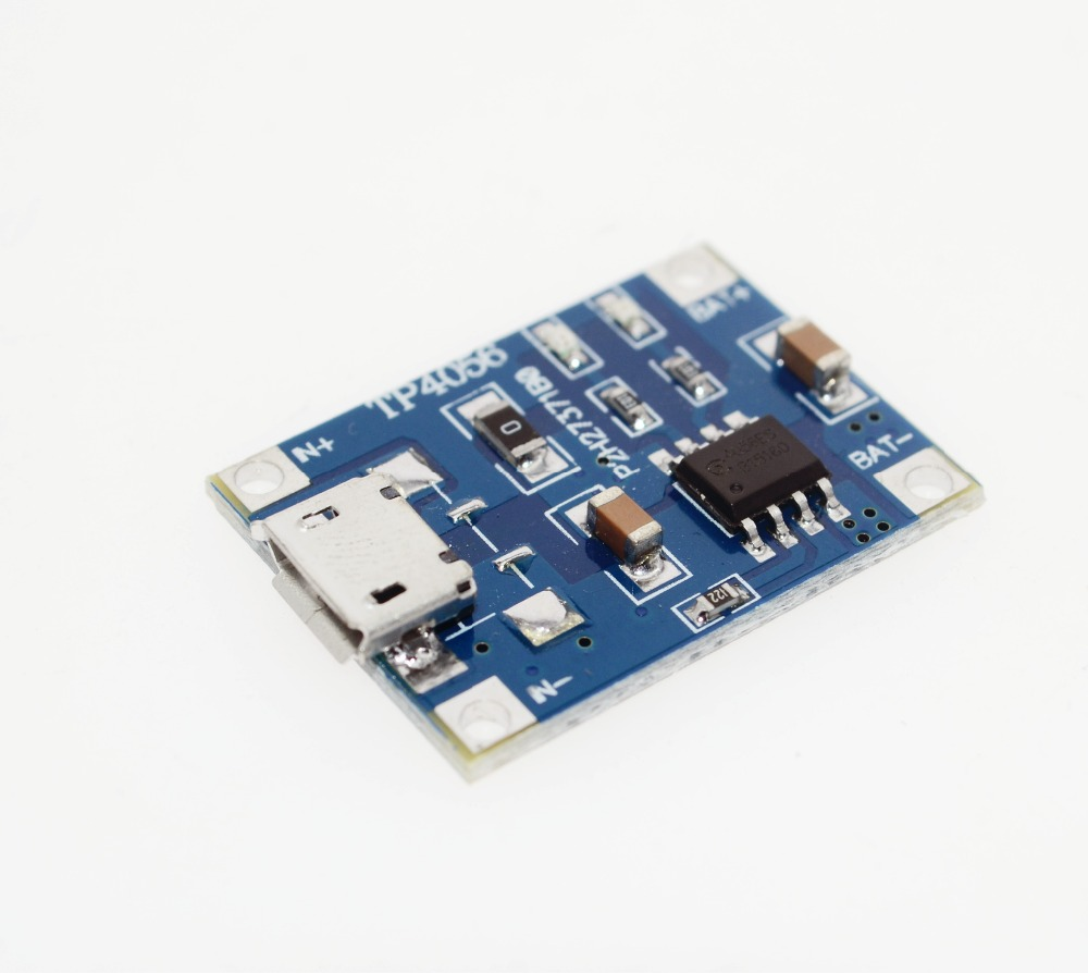 TP4056 1A dedicated lithium battery charging pad charging module ...