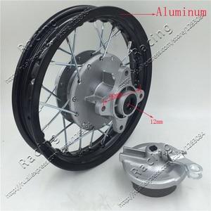 Задние колеса 10 дюймов с 28 отверстиями, диски из алюминиевого сплава, ступица барабана для велосипеда грязи, питбайка KTM CRF Kayo BSE Apollo