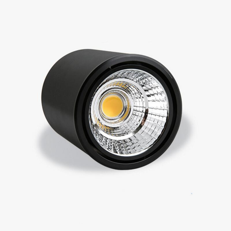 7W 10W 15W Surface Mounted COB LED Downlights LED Ceiling Down Lamp Kitchen Bathroom Dimmable LED COB Downlights Lamp