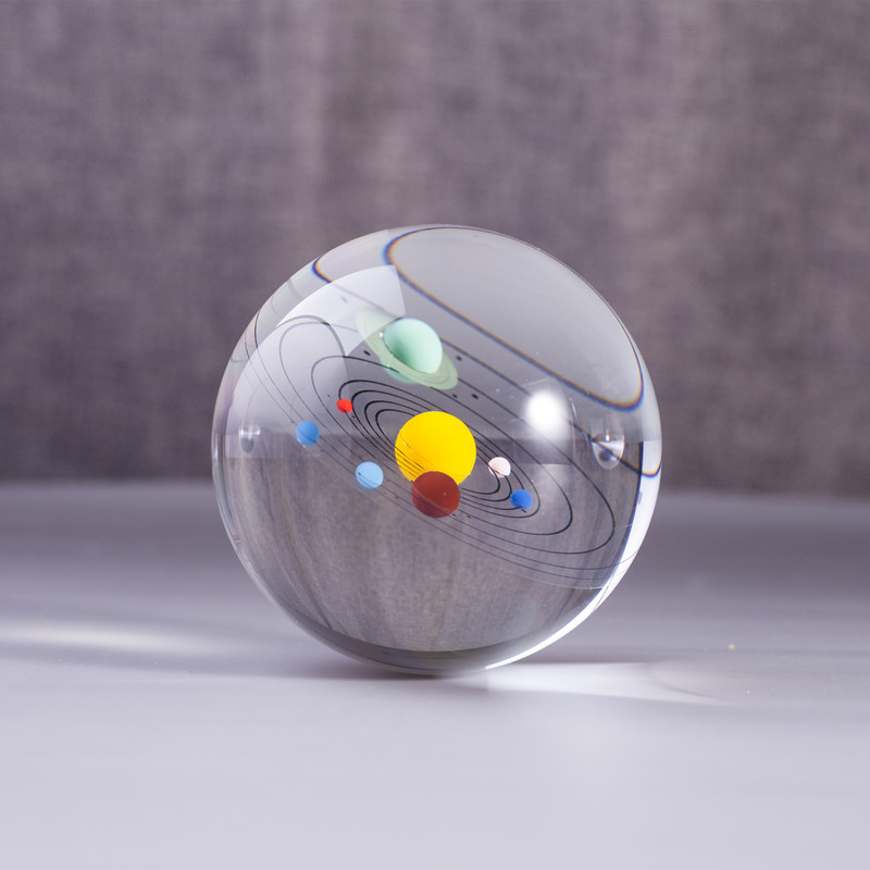 geekoplanet.com - Solar System Crystals Sphere