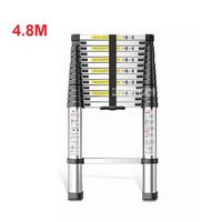 4.8 Meter DLT A Extension Ladder Aluminum Alloy Thickened Straight Ladder Single sided Ladder 14 step Folding Engineering Ladder