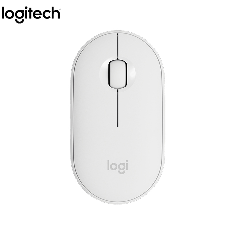 Original Logitech Newest PEBBLE Bluetooth Mouse Mini&Thin 1000DPI 100g High Precision Optical Tracking Unifying Colorful Mouse