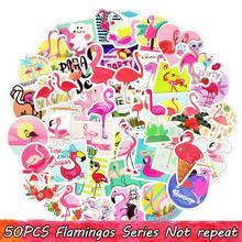50 шт./партия милый аниме Фламинго стикер мечта творческая наклейка наклейки игрушки для детей портфель для ноутбука багажные наклейки для гитары