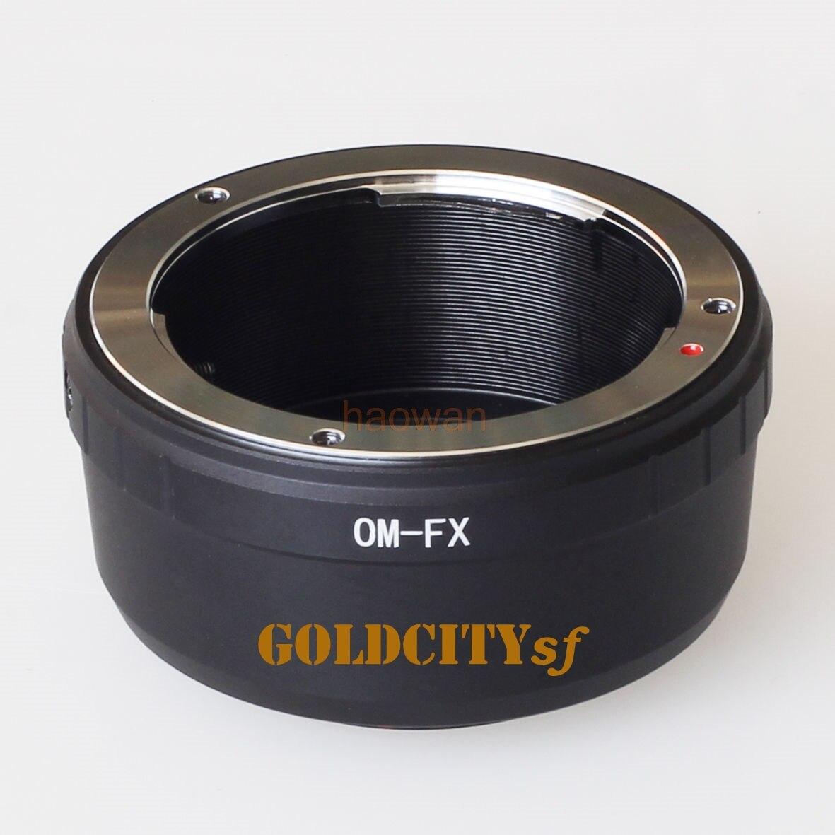 OM-FX bague adaptateur d'objectif à monture OM pour caméra fuji film fuji FX X X-E2/X-E1/X-Pro1/X-M1/X-A2/X-A1/X-T1 xpro2