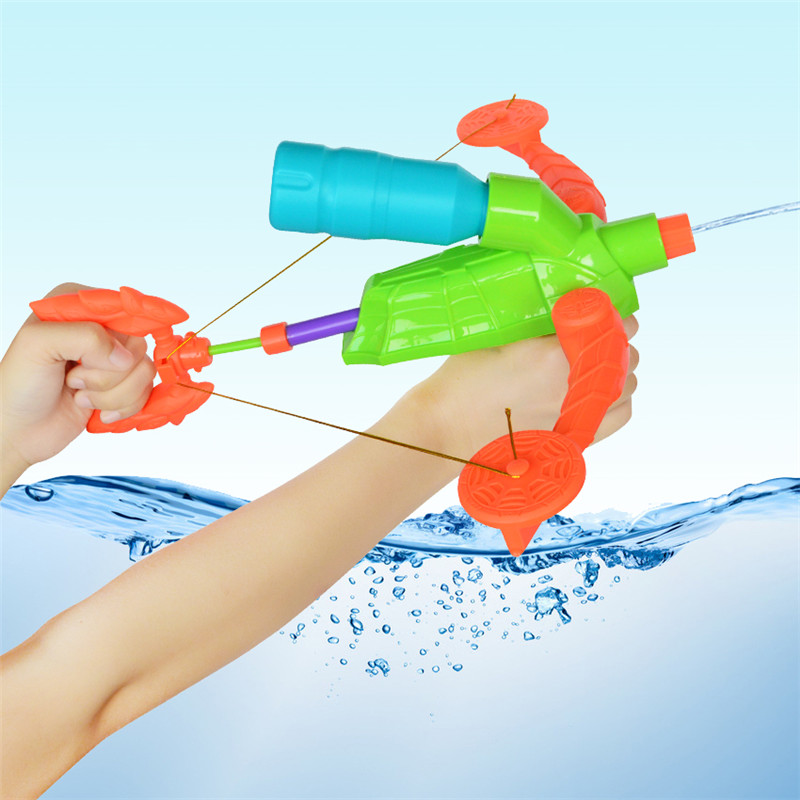 New arrival Crossbow Pressure Pump Big Water Gun Toys Outdoor Plastic Water Pistol Toy For Kids Summer Sprinkling Water Fun Toy