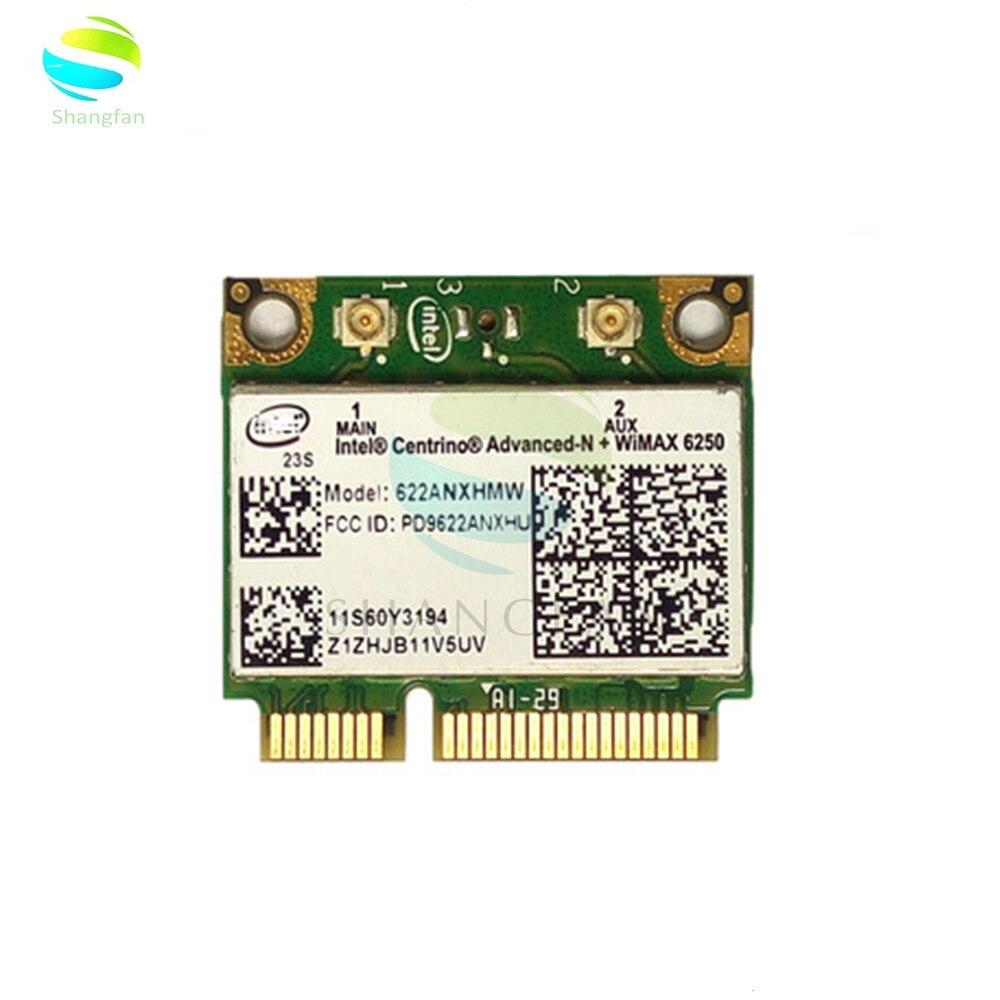 Wireless Wifi Card 622ANXHMW 6250AN 300Mbps 2.4G & 5G WiFi Adapter For Lenovo/Thinkpad Intel Advanced-N 6250 ANX FRU 60Y3195
