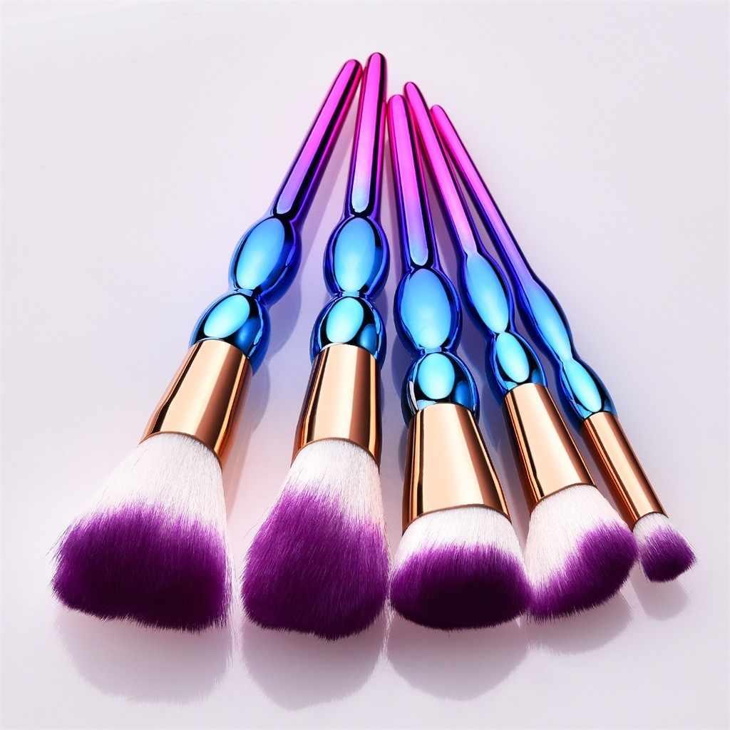 5/7/10 pièces pinceaux de maquillage ensemble visage Pro poudre pinceaux sourcil Blush fond de teint pinceaux de maquillage brochas maquillaje