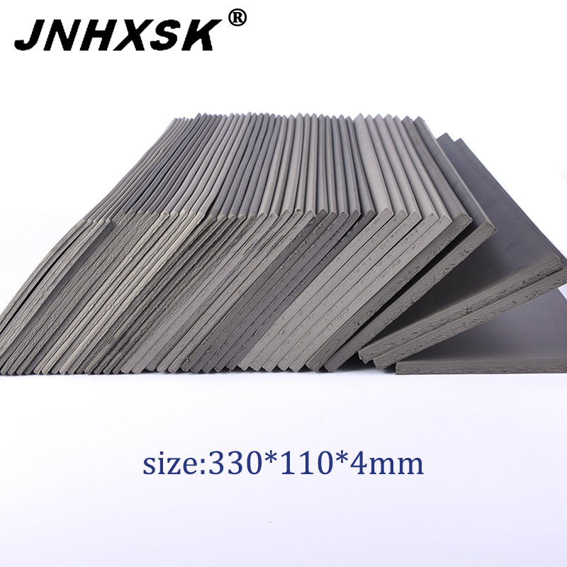330*110*4mm Rubber Stamp Pad For Stamp Maker Photosensitive Seal Machine For Laser Engraving Machine